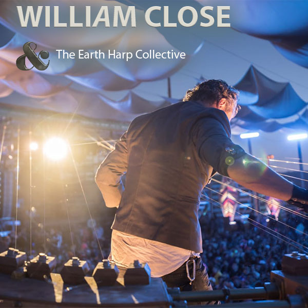 William Close and the Earth Harp Collective at Pollak Theatre at Monmouth University