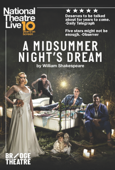 A Midsummer Night's Dream - National Theatre Broadcast at Pollak Theatre at Monmouth University