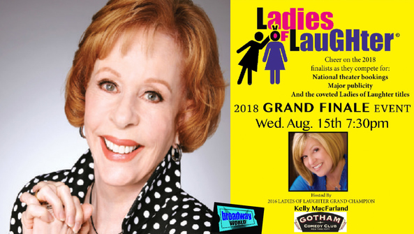 Ladies of Laughter at Pollak Theatre at Monmouth University